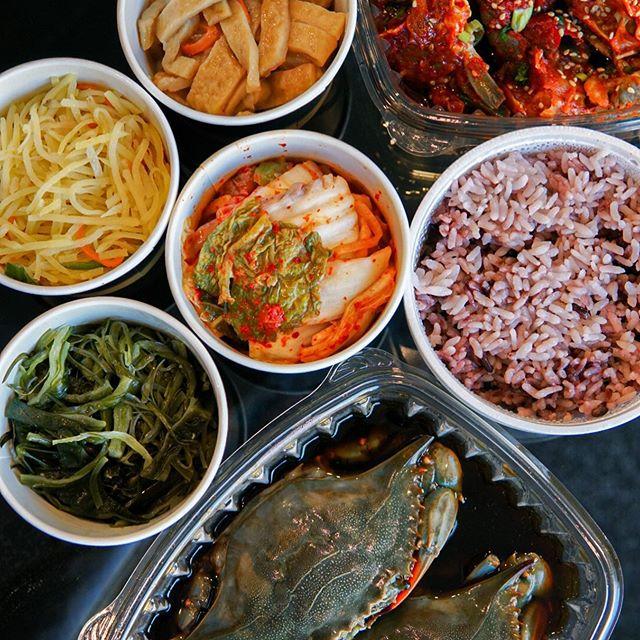 @winnieluong Finch JungSooNae Gejang Meal